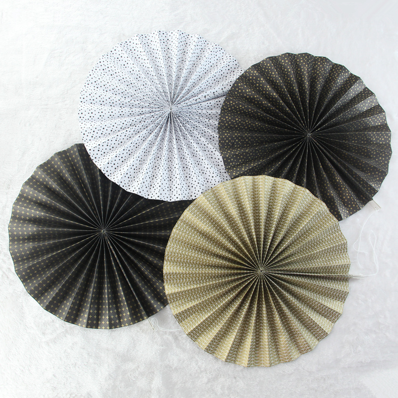 Chinese paper folding fans