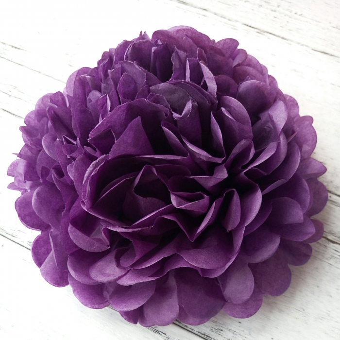 Comprar Papel De Tejido Umiss Flores Pompones De Papel De Color
