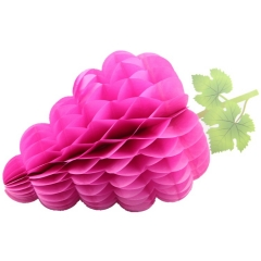 Grape Shaped Tissue Paper Honeycomb Balls