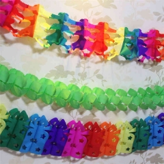 Girl Clover Bag Shaped Paper Garland