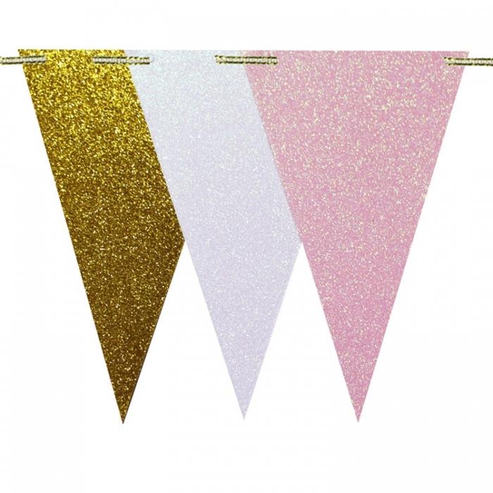 Comprar Umiss Feliz Cumpleaños Banner 15 Pieza Hoja Triángulo ...