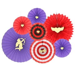 Bluk Paper Fans For Party Decorations