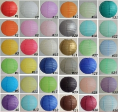 Stock Round Chinese Paper Lantern Wholesale