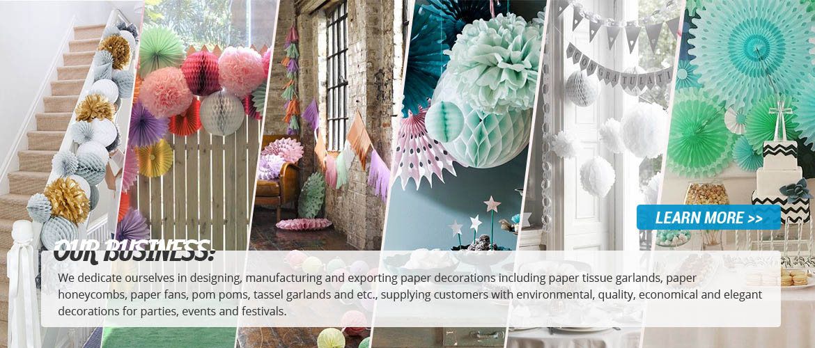 Paper Decorations Exporter